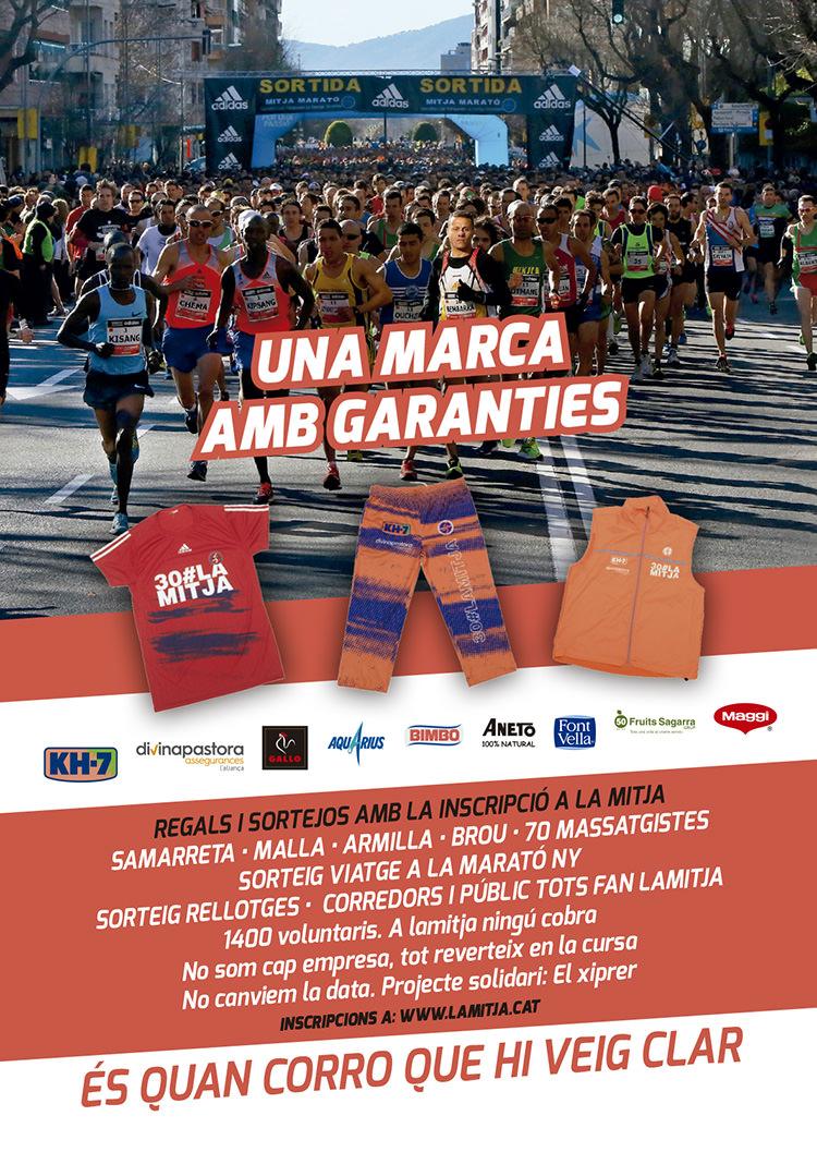 una-marca-amb-garanties. Half marathon barcelona
