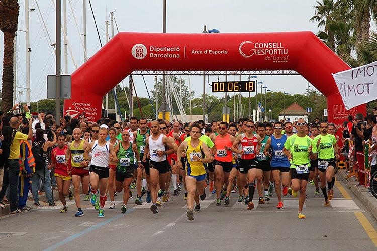 Cartell 5a Edició Cursa 5 i 10 km de Vilanova i la Geltrú